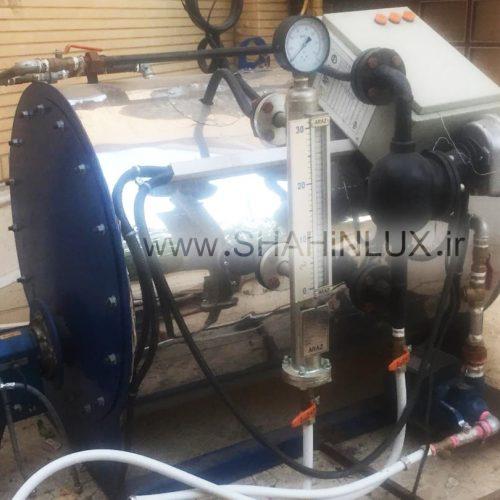 دستگاه بخار 450 لیتری زاگرس مناسب کارواش نو