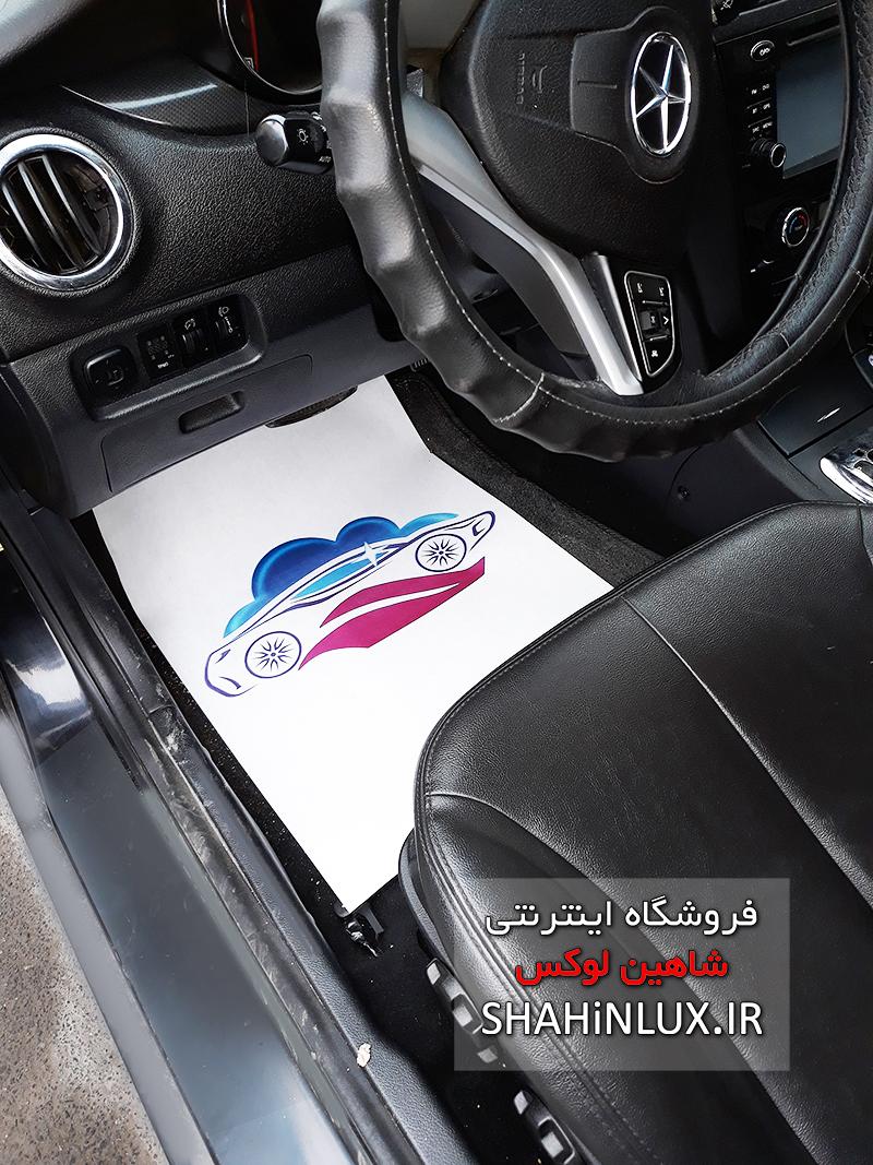 کاغذ کف پایی خودرو کارواش و خودرو