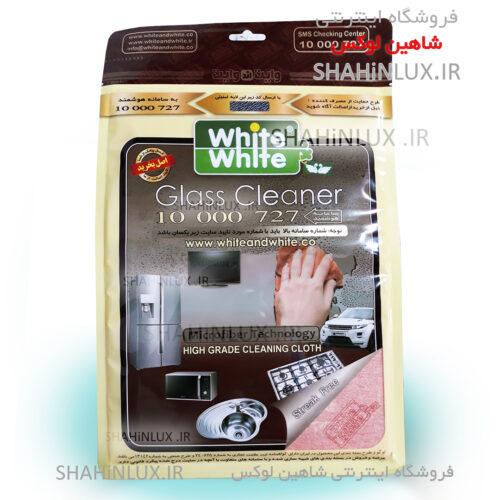 دستمال نظافت شیشه خودرو وایت اند وایت White & White