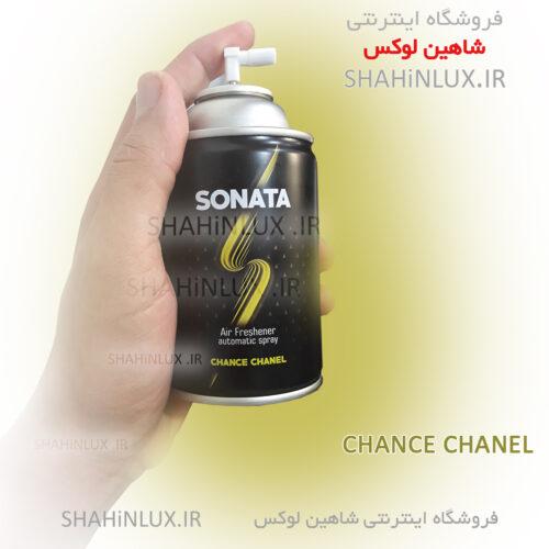 اسپری خوشبو کننده خودرو سوناتا SONATA مدل CHANCE CHANEL_