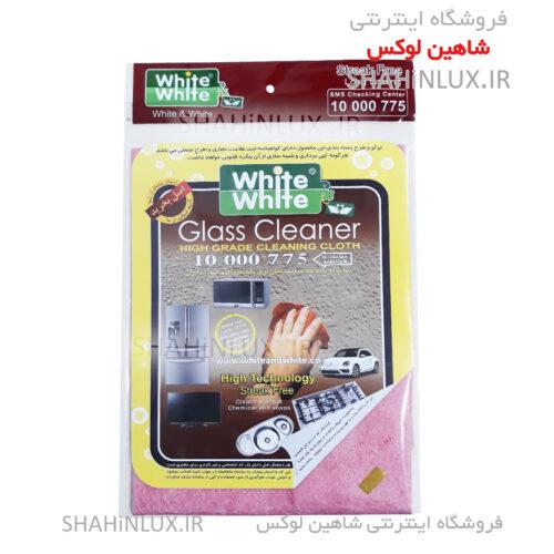 _دستمال نظافت شیشه لوازم خانگی و ماشین وایت اند وایت کد 775
